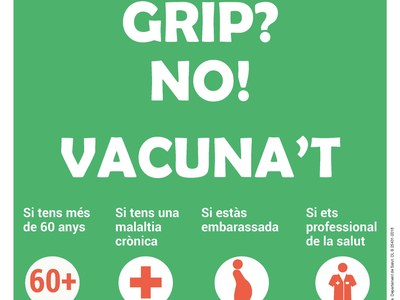 Vacuna't contra la grip